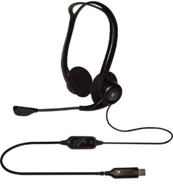 Image of Logitech PC 960 Stereo Headset USB
