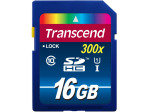 Transcend 16GB SDHC Class 10 UHS-I 300x Memory Card