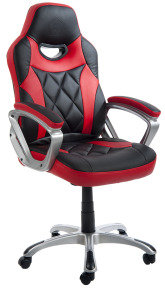 Element Gaming Mercury Office Chair - Black & Red