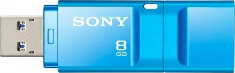 8GB Microvault X Series USB 3.0 Flash Drive - Blue