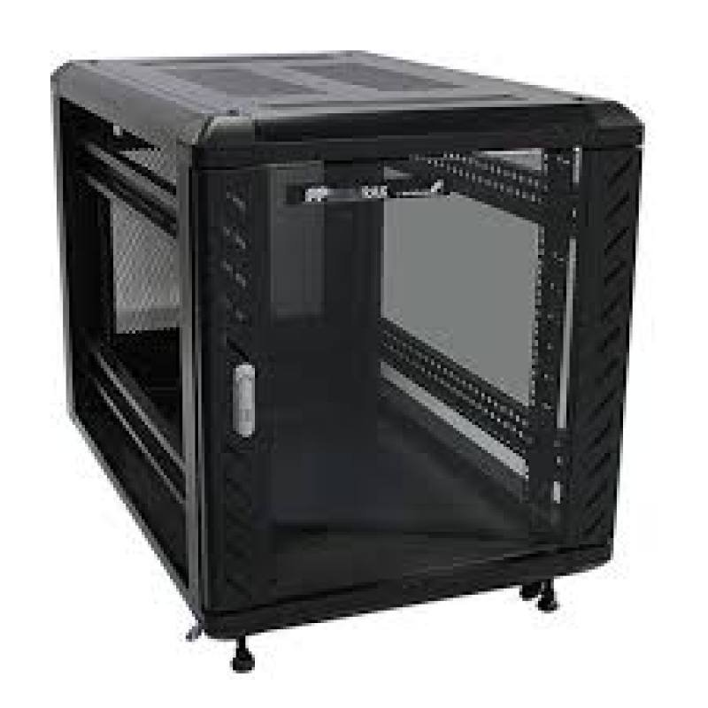 StarTech 12U 36in Knock-Down Server Rack Cabinet with Casters Rack