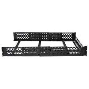"StarTech 2U Fixed 19"" Adjustable Depth Universal Server Rack Rails"