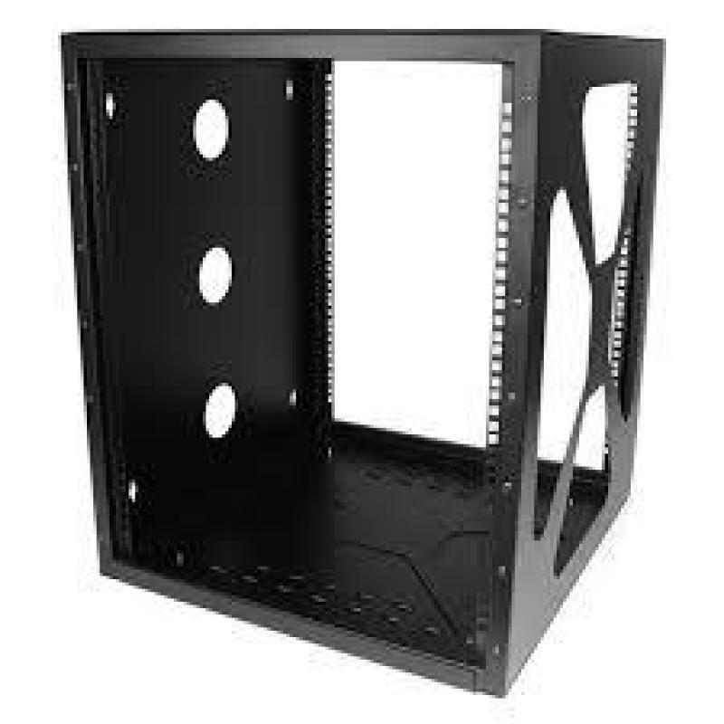 StarTech 12U 19in Wall Mount Side Mount Open Frame Rack Cabinet
