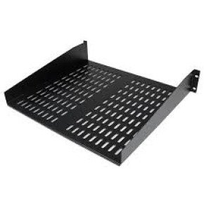 StarTech 2U 16in Universal Vented Rack Mount Cantilever Shelf