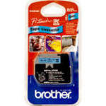 Brother 12mm Plastic Tapes Black On Blue P-touch