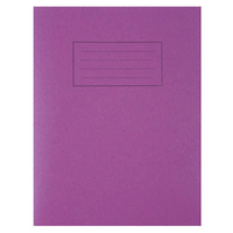 Silvine 9x7 Exercise Book 80pp Feint And Margin Purple