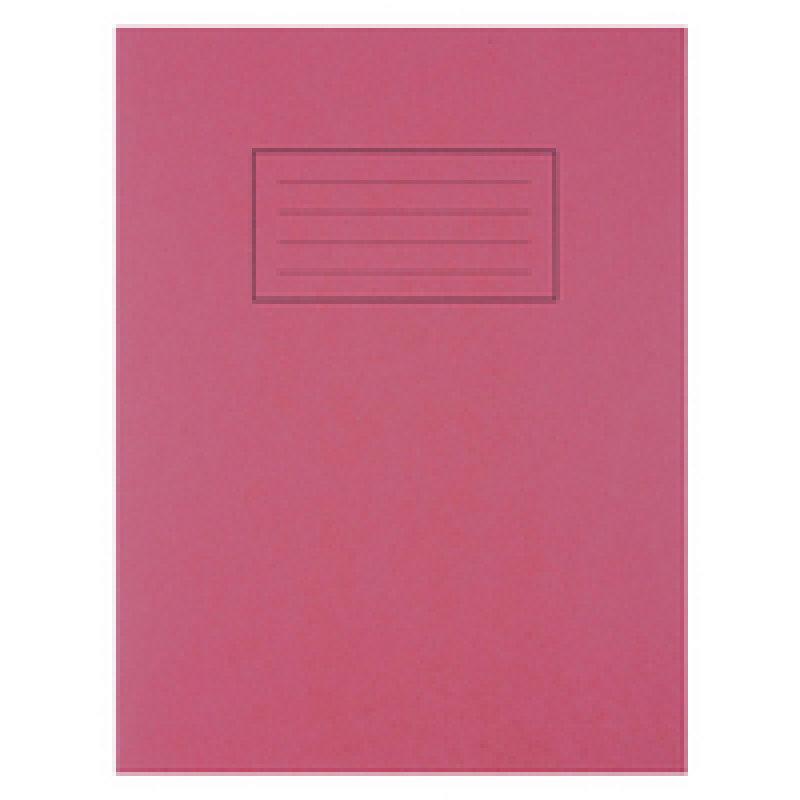 Silvine 9x7 Exercise Book 80pp Feint And Margin Red