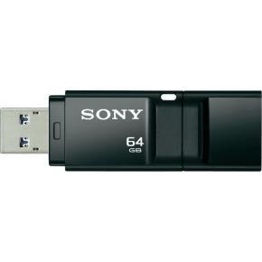 64GB Microvault X Series USB Flash Drive - Black