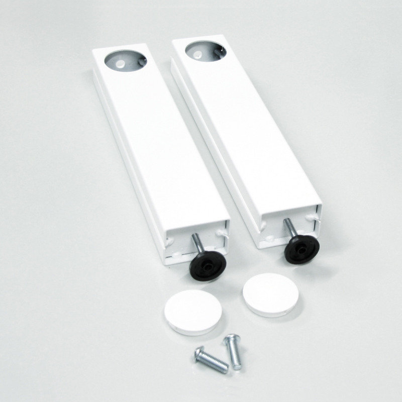 Loxit 350mm Extension Legs for Hi-Lo Screen Lift White