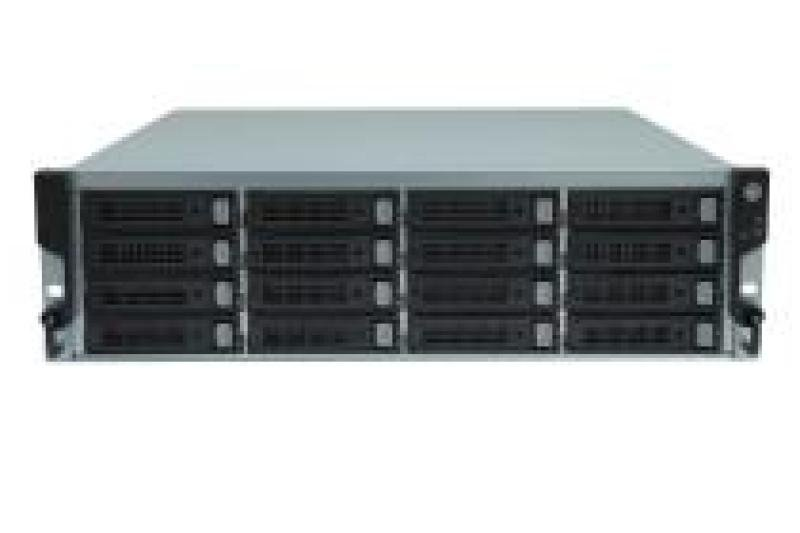 QSAN U300-P20-C316-E3 U300 iSCSI (Intel Xeon E3) 10Gbe 16 Bay 3U NAS