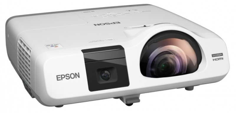 Epson Eb-535w Short Throw WXGA HD ready Projector -2400 lms