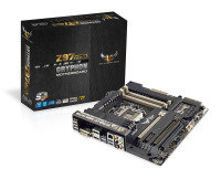 Asus GRYPHON Z97 ARMOR EDITION Socket 1150 DVI HDMI DisplayPort 8 Channel Audio mATX Motherboard