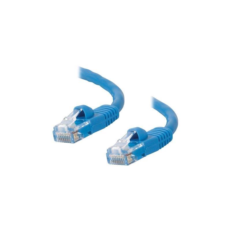 Image of 0.5M Cat6 LSOH Moulded Ethernet - Blue