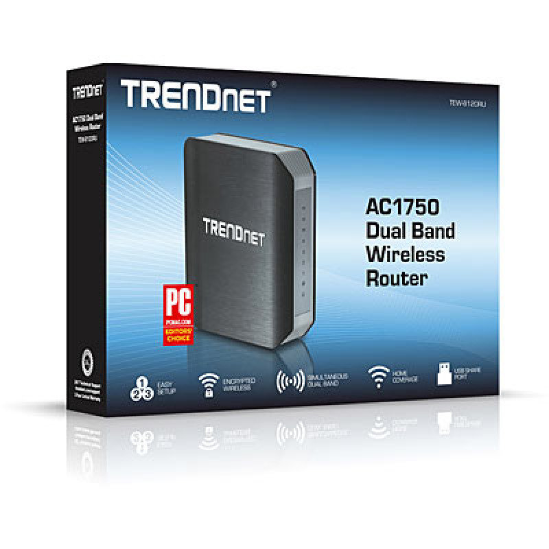 Trendnet AC1750 N1300 Dual Band Wireless - Ac Router In