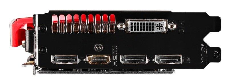 MSI GeForce GTX 960 Gaming 2G OC Edition 2GB GDDR5 Dual-Link DVI-I HDMI DisplayPort Graphics Card