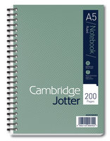 Cambridge Jotter Notebook A5 Feint Ruled 200 Pages