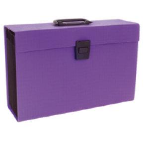 Rexel Joy Expanding File Purple Rx23489