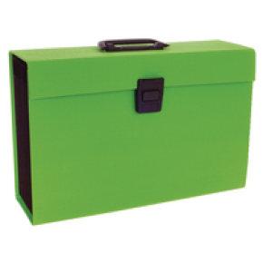 Rexel Joy Expanding Box File Lime