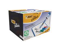 Bic Velleda Whiteboard Marker 1701 Bullet Tip Assorted Pck 48