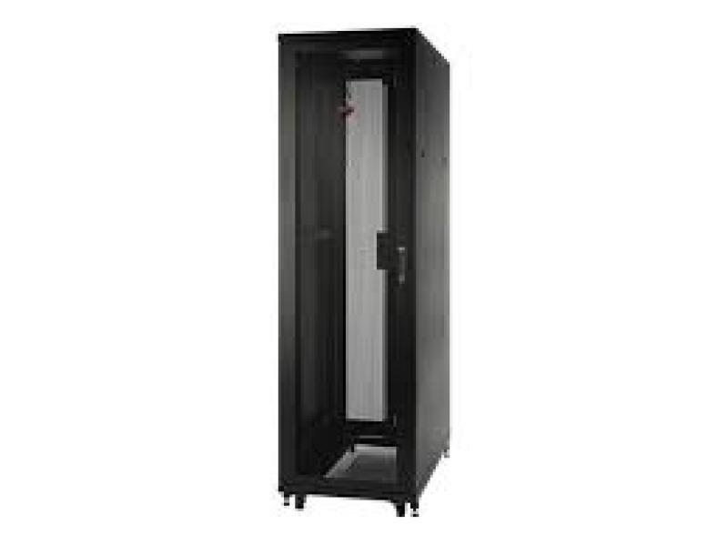 APC Netshelter SV 42U 600mm Wide X 1060mm Deep Enclosure With Sides  Black  Single Rack Unassembled
