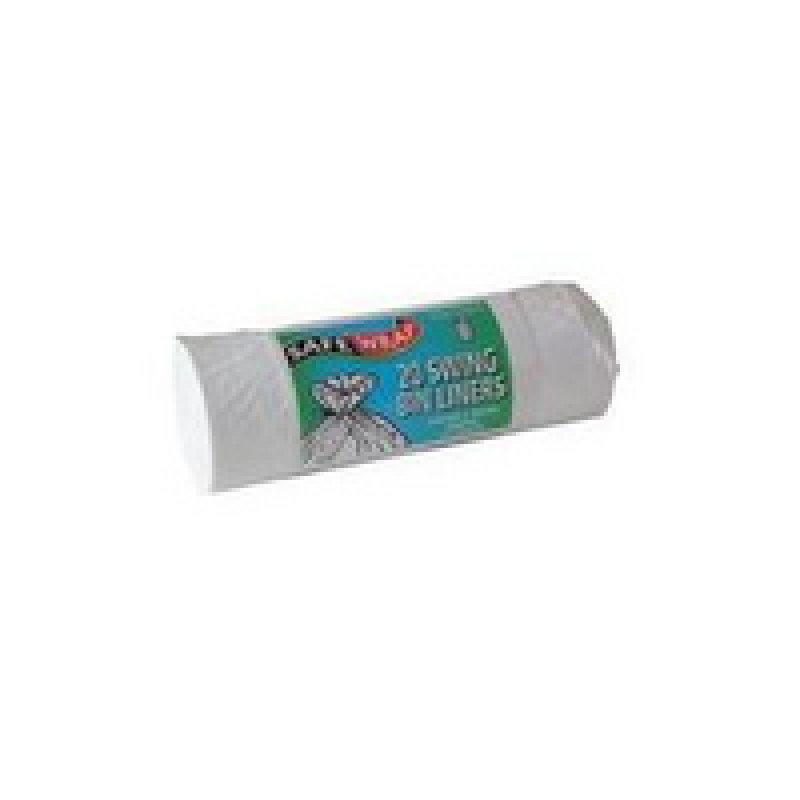 Safewrap Standard Swing Bin Liner 20 Per Roll (Pack of 4)
