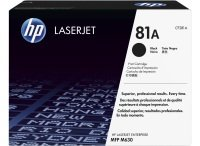 HP 81A Black Laserjet Toner Cartridge - CF281A