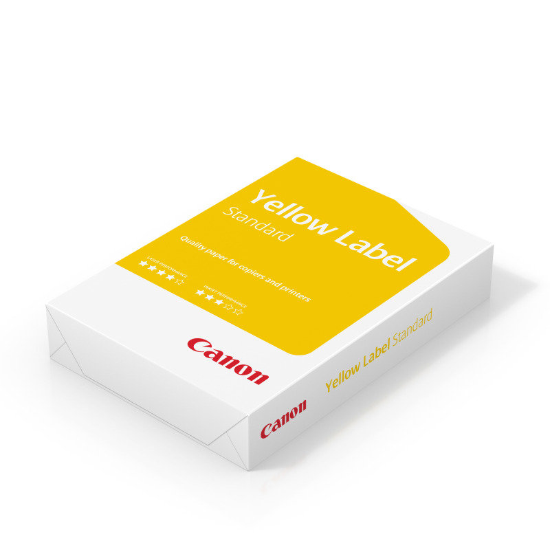 Canon Yellow Label A3 80GSM White Printer Paper  500 Pages