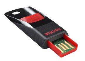 64GB SanDisk Cruzer Edge USB 2.0 Flash Drive