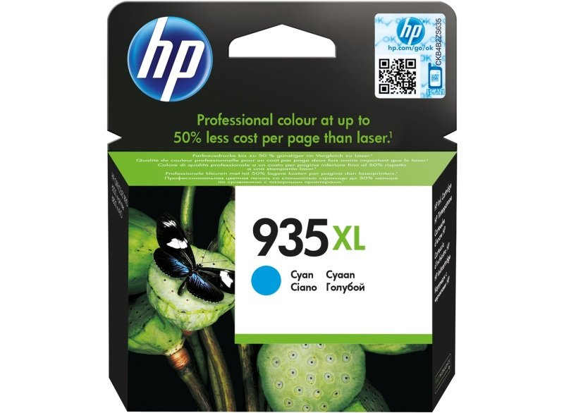 HP 935XL Cyan Ink Cartridge - C2P24AE