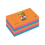 Post-it Notes Super Sticky Bangkok 76 x 127mm Pack of 6