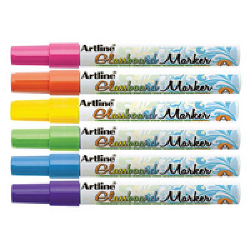 Image of Artline Glass Brd Mrker Wallet Assorted