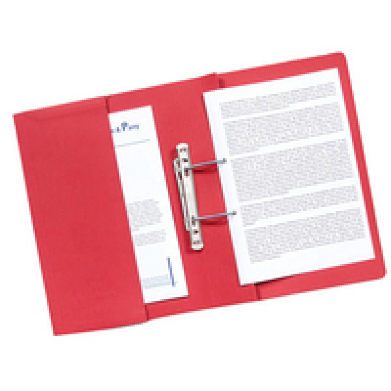 Guildhall Pocket Spiral File Red (Pack of 25)