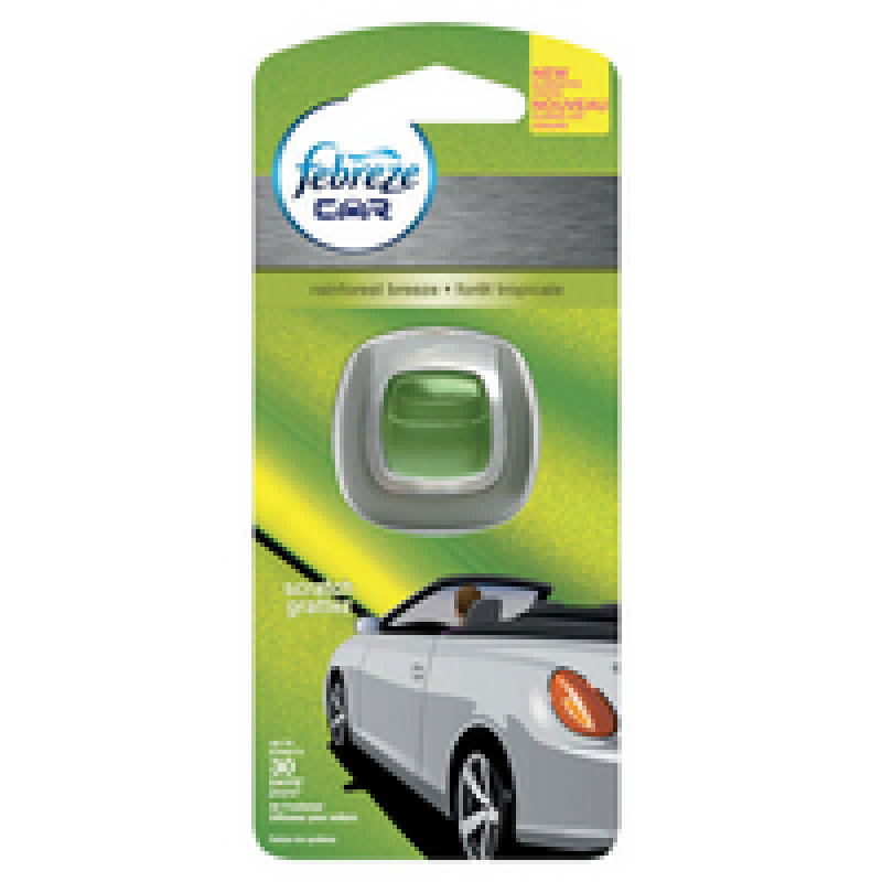 Image of Febreze Car Air Freshener Rainforest Breeze