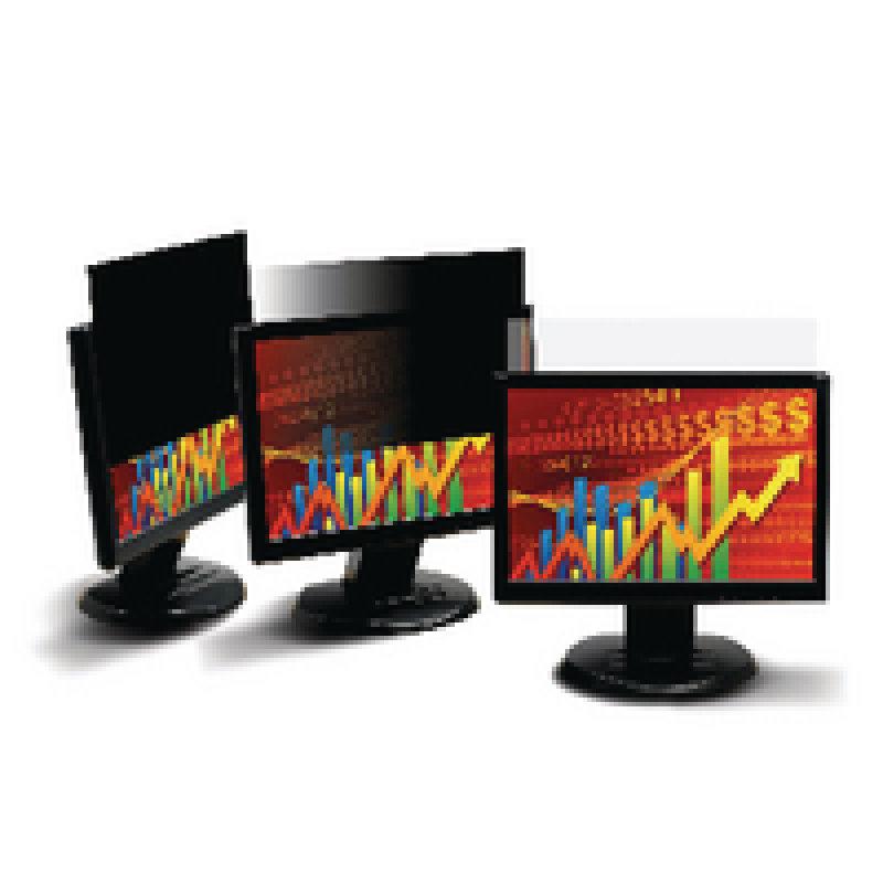 3M Black Privacy Filter for Desktops 21.5in Widescreen 16:9