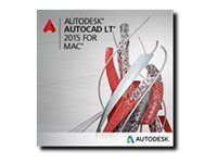 Autodesk AutoCAD LT for Mac 2015 Commercial Upgrade with Subscription in the Box