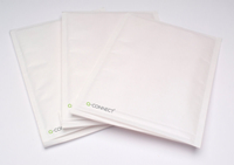 Q-Connect Bubble Lined Envelope Size 8 White KF71454 Pack of 50