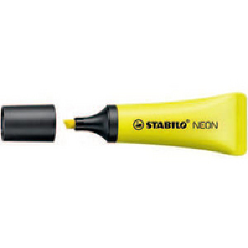 Stabilo Neon Highlighter Pk10 Yell 72/24