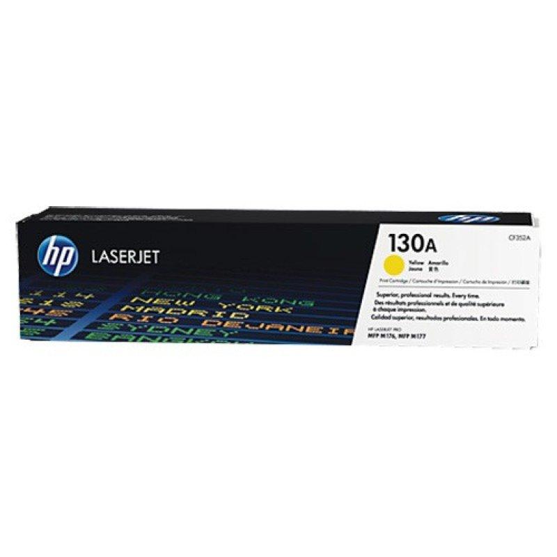 HP 130A Yellow LaserJet Cartridge - CF352A