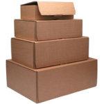 KENDON MAIL BOX L 395X255X140MM PK20 BRN