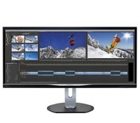 "Philips BDM3470UP 34"" LCD Ultra Wide QHD Monitor"