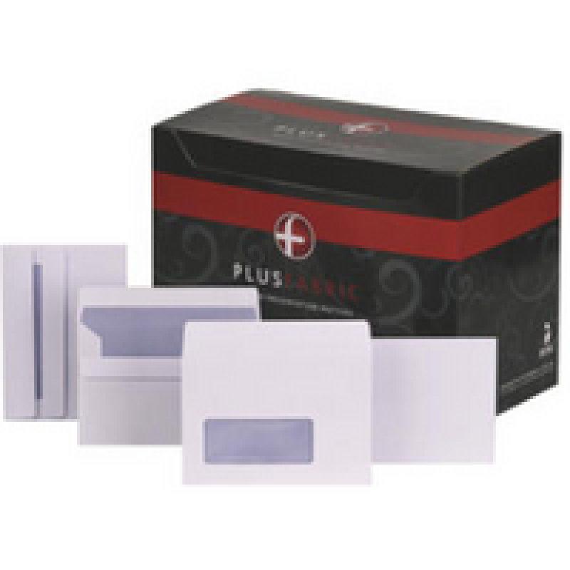 PLUS FABRIC DL WLLT P/S WHT D10054 PK250
