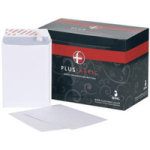 Plus Fabric C5 Envelope Peel and Seal 110gsm White Pk250