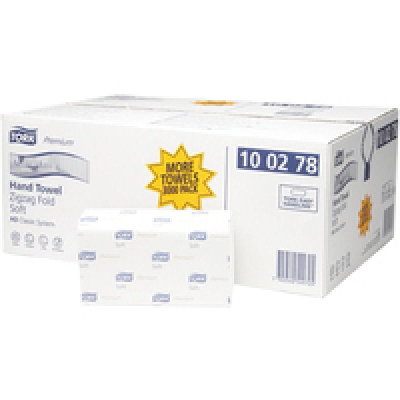 Tork Single Fold Hand Towel 200 Sheets Pk15
