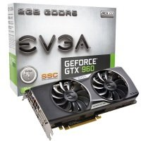 EVGA GeForce GTX 960 SuperSC ACX 2.0+ 2GB GDDR5 DVI-I HDMI DisplayPort PCI-E Graphics Card