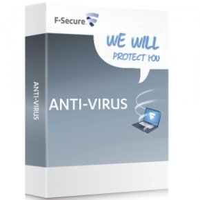 F-secure Anti-Virus PC & Mac (1 year, 3 User) Electronic Software Download