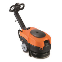 Vax Commercial Black and Orange Mains Powered Scrubber Dryer