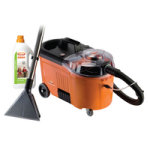 Vax Commercial Vacuum Cleaner Orange and Black