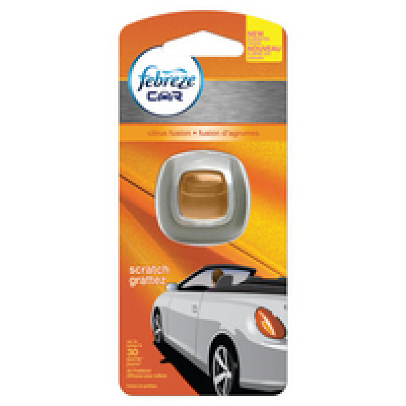 Image of Febreze Citrus Fusion Car Air Freshener