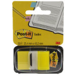3M Postit Tape Flags Yellow 680-5 - 12 Pack