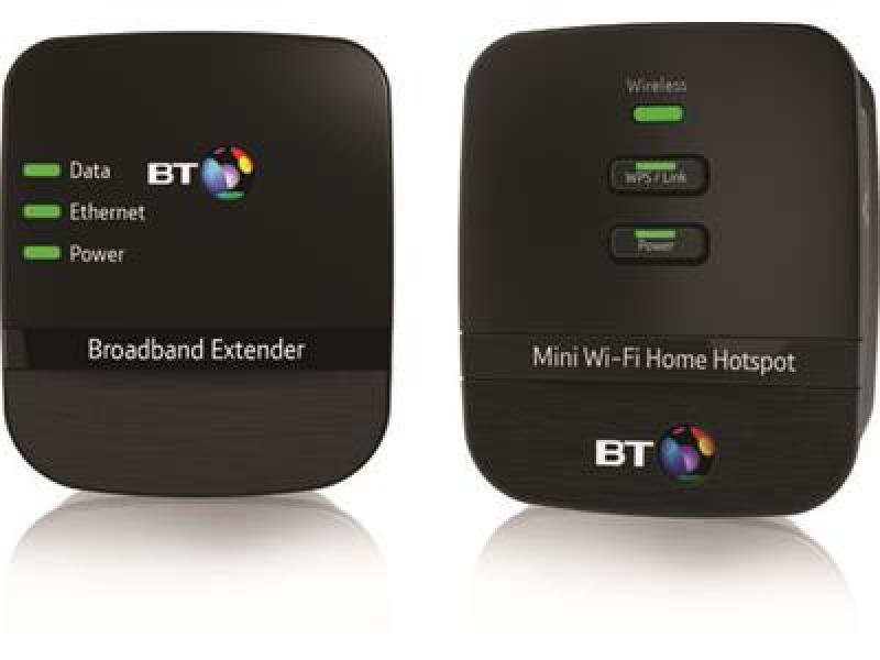 BT Mini Wi-fi Home Hotspot 500 Kit - Twin Pack